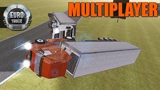 Download Euro Truck Driver Multiplayer - Curvas Perigosas e Acidente Video