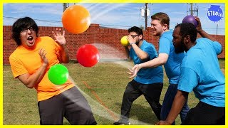 Download CRAZY DODGEBALL GAME ! ORANGE TEAM VS BLUE TEAM Video