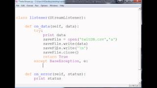 Download Saving Tweets: How to use the Twitter API v1.1 with Python to stream tweets Video