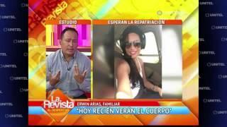 Download La familia de la boliviana fallecida repatriará hoy el cuerpo desde Colombia Video