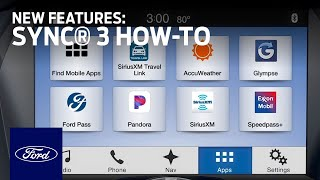Download SYNC®3: New Features | SYNC 3 How-To | Ford Video