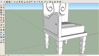 Download การทำเก้าอี้ sketchup #ขิมเรียม Video