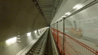 Download Crossrail Railway Systems: End to End journey through Elizabeth line tunnels Video