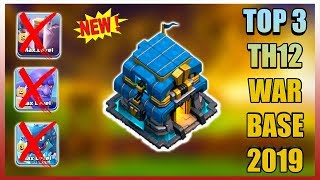 BEST TOWN HALL 12 (TH12) TROPHY BASE 2019 WITH 8 DEFENSE
