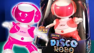 Download TOSY | Disco Robo | THE DANCING ROBOT | Kid Toys | 2015 Video