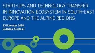 Download 1. Day - Start-Up in innovation ecosystems in South-East Europe Video