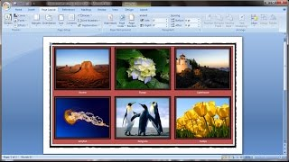 Download Microsoft word tutorial |How to insert images into word document table Video