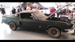 Download Barnfind! 1967 Shelby GT 500 at the Mustang 50th Anniversary Birthday Celebration Video