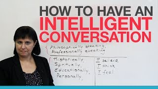 Download How to talk about a topic intelligently Video