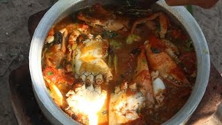 Download How to cook Crab Curry Village Style    Country Food    Indian Village Style Crab Curry Recipes Video