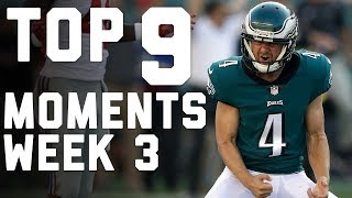 Download 9 Things That Made Week 3 AWESOME | NFL Highlights Video