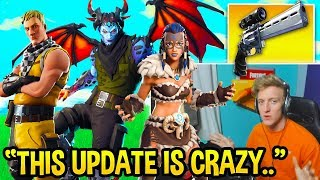Download Tfue FULLY Explains ALL Fortnite 7.20 Changes! Shields NERF, Editing UPDATE, and MORE! (NEW SKINS!) Video