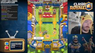Download Sunday Funday Live Tournament! Clash Royale Live Stream with Jonno! Video