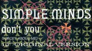 Download Simple Minds - Don't You (Forget About Me) (12'' Original Version) Video