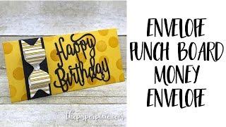 Download Envelope Punch Board Money Envelope Video