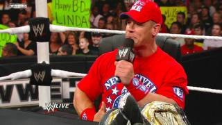 Download John Cena and CM Punk's Undisputed Championship Match Contract Signing Video