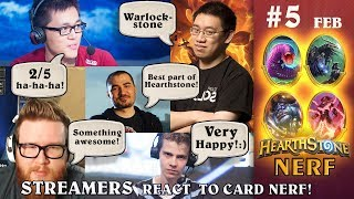 Download Hearthstone Streamers React to CARD NERF. Kripparrian, Thijs, Trump, Amaz, RegisKillbin. (2018) Video