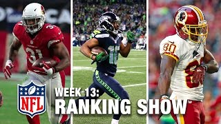 Download Week 13 Rankings Show | Top 10 Plays, Top 3 Celebrations, & More! | NFL Video