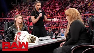 Download Ronda Rousey vows to take Nia Jax's arm and her title: Raw, May 21, 2018 Video