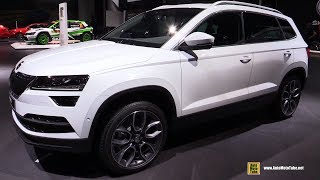 Download 2018 Skoda Karoq - Exterior and Interior Walkaround - 2017 Frankfurt Auto Show Video
