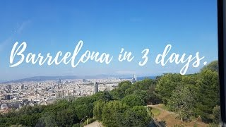 Download Visit Barcelona - 3 days in 3 minutes! Video
