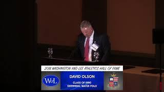 Download David Olson Hall of Fame Speech Video