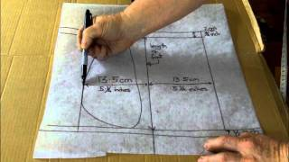 Download Making The Moccasin Pattern. Part 2 Video
