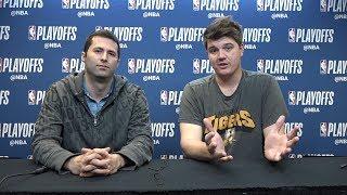 Download Warriors' reporters Mark Medina and Dieter Kurtenbach discuss Game 3 versus the Spurs Video