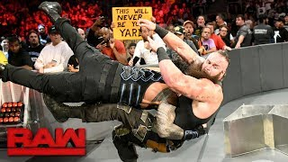 Download Roman Reigns vs. Braun Strowman - Last Man Standing Match: Raw, Aug. 7, 2017 Video