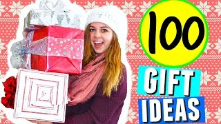 Download 100 CHRISTMAS GIFT IDEAS 2016! HOLIDAY GIFT GUIDE + DIY PRESENTS FOR TEENAGE GIRLS, BOYS + PARENTS! Video