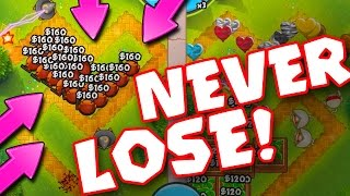 Download Bloons TD Battles :: NEVER LOSE... EVER :: THIS STRATEGY IS INSANE Video