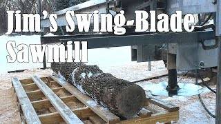 Download Jim's Homemade Swing Blade Sawmill Video