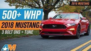 Download Hitting 500+ RWHP NA In Our 2018 Ford Mustang GT With Bolt Ons Video