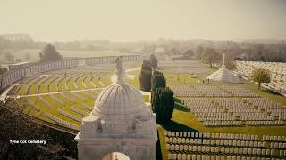 Download Follow the footsteps of the Australian WWI soldiers on the battlefields of Flanders Fields, Belgium Video
