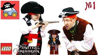 Download ⛵️ #1 ПОРТ-РОЙАЛ Лего пираты Карибского моря Проклятие Чёрной Жемчужины Жестянка Video