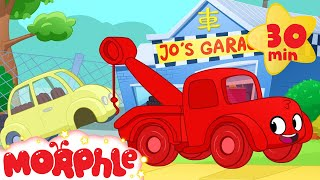 Download Morphle The Tow Truck! Tow Truck Video For Kids. (+Ambulance, police car, fire truck, garbage truck) Video