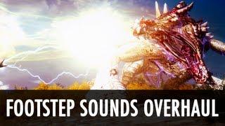 Download Skyrim Mod: Footsteps Sounds Overhaul Video