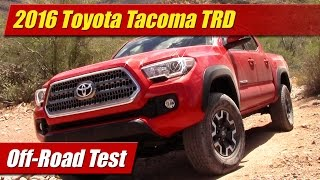 Download 2016 Toyota Tacoma TRD Off-Road Test Video