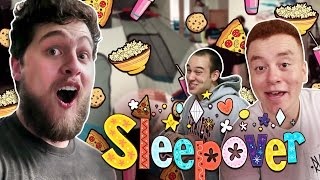 Download OFFICE SLEEPOVER! w/ Red, Preston and Barney! Video
