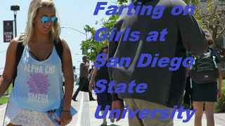 Download WET FARTS ON COLLEGE GIRLS AT SDSU (Wet Farts by ″The Sharter″) Video