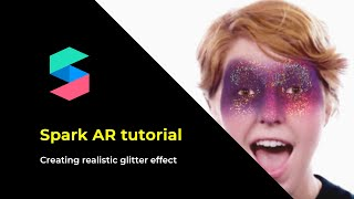 Download Realistic glitter makeup mask in Spark AR Video