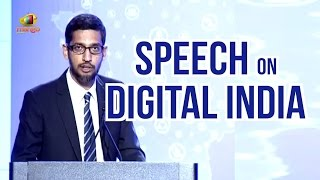Download Google CEO Sundar Pichai Speech On Digital India | PM Narendra Modi US Tour | Mango News Video