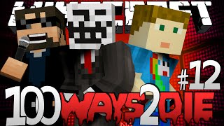 Download Minecraft 100 Ways To Die | Pink Hair Dye Challenge [12] Video