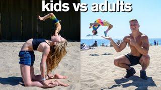 Download KIDS vs ADULTS All Star Gymnastics Challenge Video