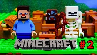Download レゴ【マインクラフト】ストップモーションLEGO Minecraft stop motion episode2 21114 mojang Video