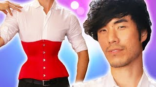 Download The Try Guys Wear Corsets For 72 Hours Video