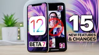 Download iOS 12 Beta 7! 15 Features/Changes & RIP Group FaceTime Video