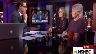 Download Robin Morgan & Gloria Steinem on MSNBC's ″All in with Chris Hayes″ Video