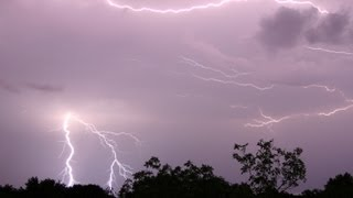 Download 10 hours of Thunderstorm and Rain Sounds in a lightning storm [ Sleep Music ] Video