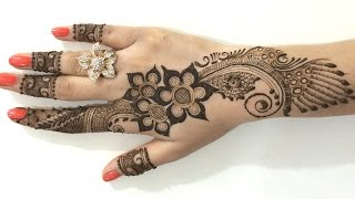 Download Best Ornament Unique Arabic Henna Mehndi:Stylist Mehendi Designs For Hands(Step By MehndiArtistica) Video